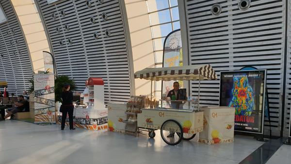Chariot à glace GM gareTGV Avignon