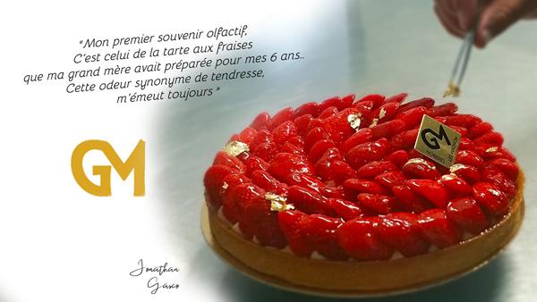 tarte aux Fraises Pâtisseries GM