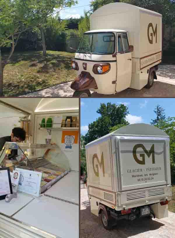 camion de glace GM